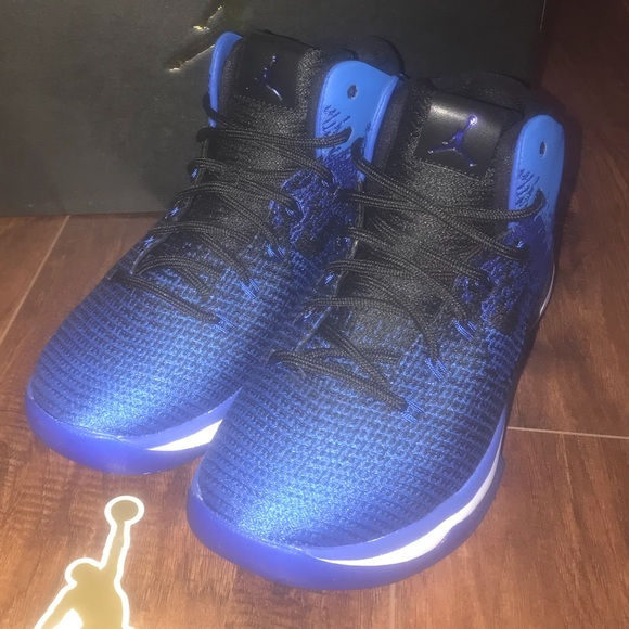 Jordan 31 xxxi black game royal gs sz 7 Sneakers